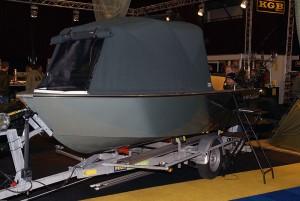 De eigen karperboot voor groot water